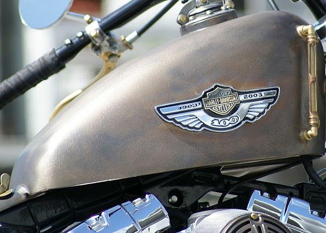Harley Davidson Tank VeroMetal Brons