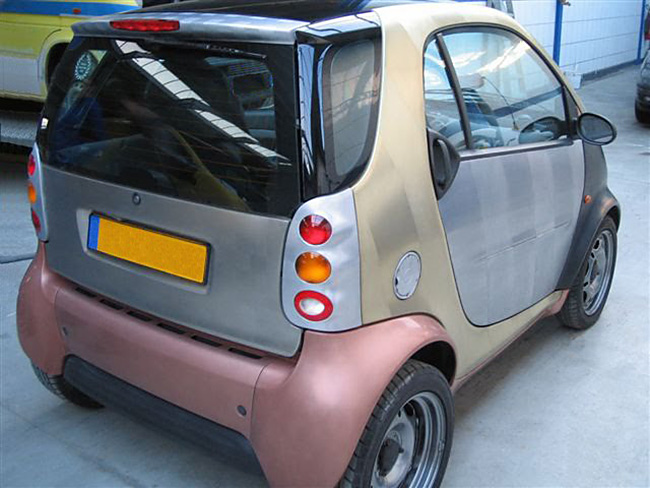 Smart ForTwo VeroMetal Koper Messing Aluminium