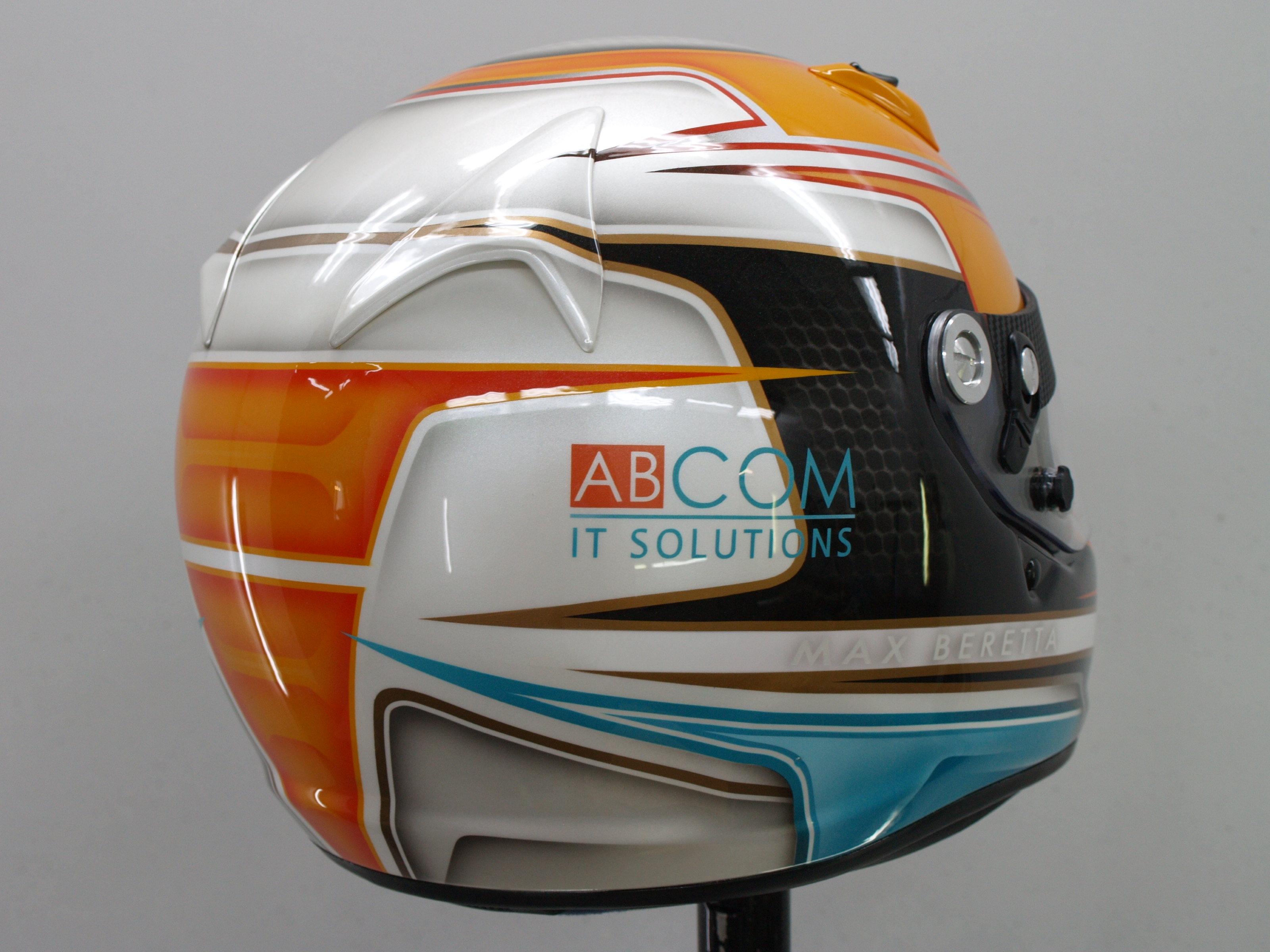 Airbrush Custompaint Arai Helmet