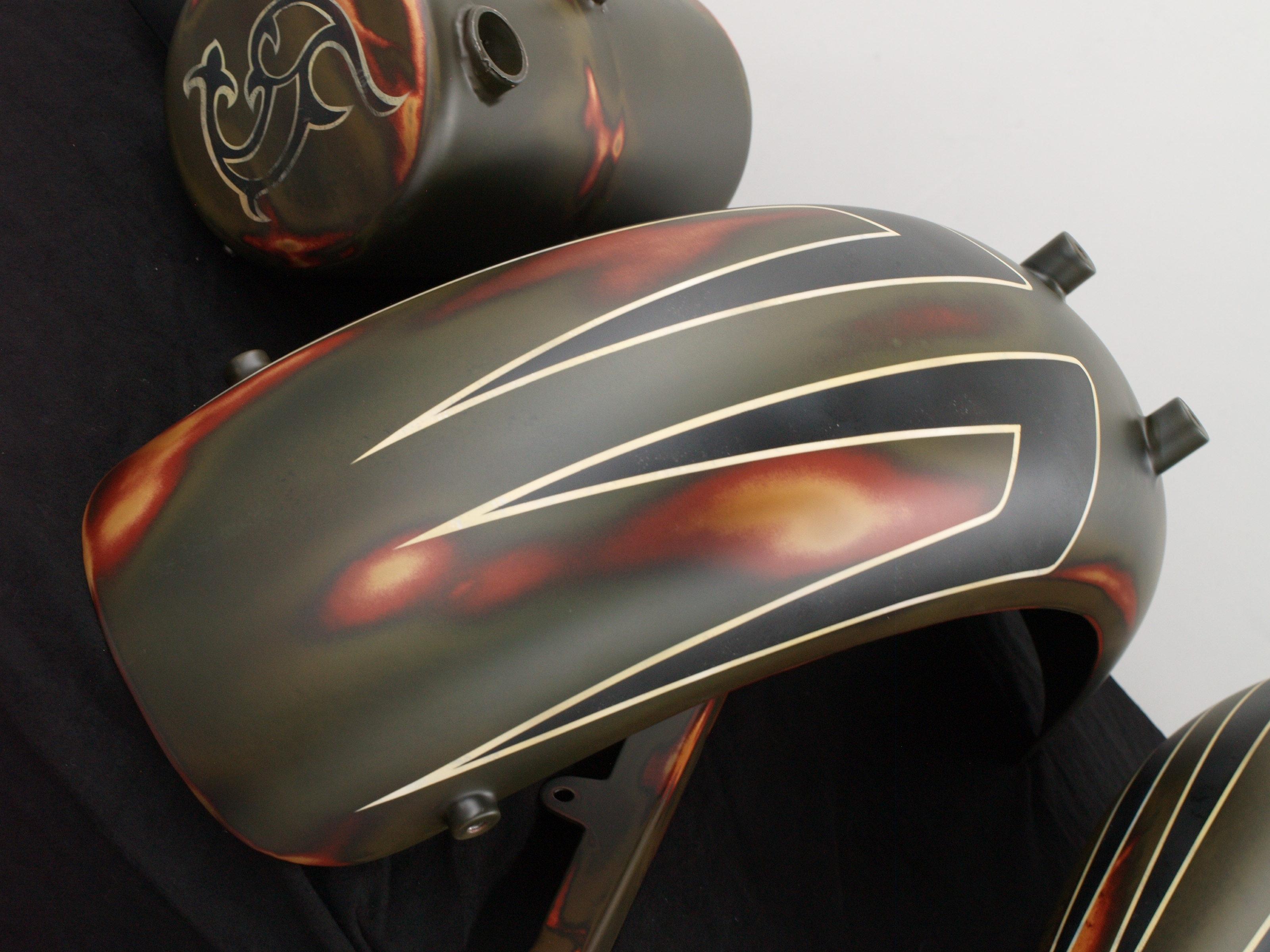 Harley-Davidson Scallops Vintage Look